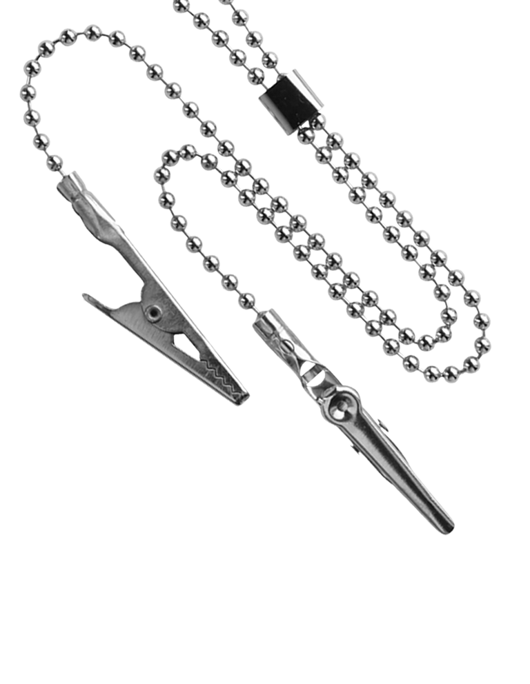 Metal chain for towel