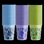 bicchieri monouso floreali