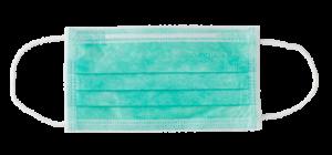 mascherina monouso smeraldo
