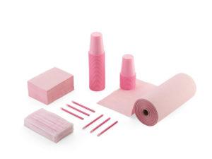 Kit monouso rosa