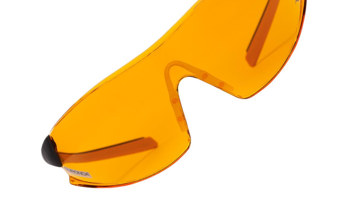 Spheric Glasses arancioni
