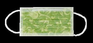 mascherina monouso smeraldo verde