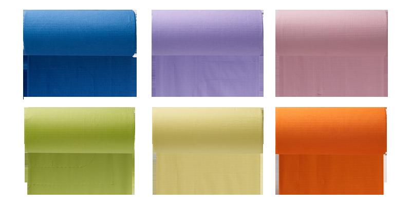 rotoli monouso colorati