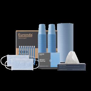 Kit Monoart 100% light blue