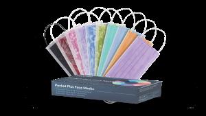 Euronda Monoart Pocket Plus face masks packaging